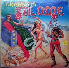 ORQUESTA SALOME RECORD COVER - PRINTED IN VENEZUELA