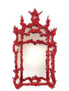 Pompidou coral mirror by Marjorie Skouras  http://dennismiller.com/www/item_details.php?itemID=352539=WSF