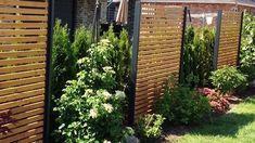 Bambus Sichtschutzzaun Schwarz 3 Größen volle