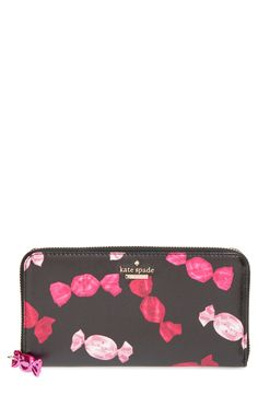 kate spade new york 'sinclair drive - lacey' zip around wallet