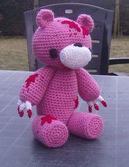 Ravelry: Gloomy Bear Look-alike pattern by Marleen Hartog