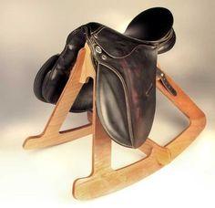 Sadle up! DIY rocking chair