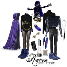 """""""Teen Titans Inspired Style 