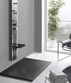 Baño con ducha moderna - muebles de baño en madrid