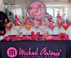 The Michael Antonio Pop Up Shop! {Dessert table signs designed by Posh Pixels Design Studio LLC}