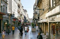Einkaufsstraße Rue Sainte Catherine in Bordeaux