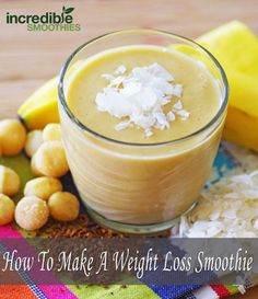 How To Make A Weight Loss Green Smoothie - Incredible Smoothies