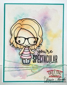 JULY RELEASE PREVIEW DAY 4: YOU'RE SPECTACULAR : The Greeting Farm – Clear Stamps, Rubber Stamps, Cardmaking USA