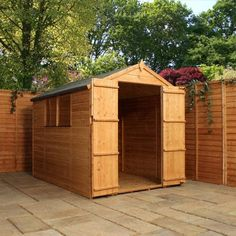Mercia - Shiplap Apex 2 Door Shed - 8x6ft at Homebase -- Be inspired and make your house a home. Buy now.