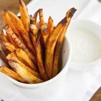 Baked Chipotle Sweet Potato Fries
