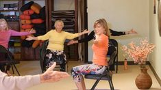Raindrops Keep Falling on my Head - Chair Yoga Dance for a Rainy Day with Sherry Zak Morris Rainy Day Songs, Yoga For Seniors, Chopped And Screwed, Workout Videos, Exercise Workouts, Exercise Videos, American Guy, Elderly Activities, Chair Exercises