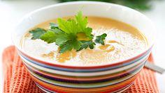 Slät linssoppa med morot