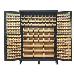 """Found it at Wayfair - 84"""" H x 60"""" W x 24"""" D Super Wide Heavy Duty Storage Cabinet"""
