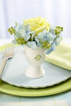 Egg Cup Place Setting