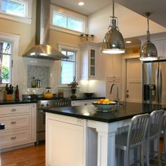 Vaulted Ceiling Kitchen Design Ideas, Pictures, Remodel and Decor