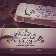 Egg Carton Rubber Stamp - Farm Stamp - Fresh Chicken Eggs - Chicken Stamp - Please Return Carton Stamp Fresh Chicken, Chicken Eggs, Lavender Stamp, Like A Version, Free Design, Custom Design, Egg Stamp, Custom Rubber Stamps, Farm Stand