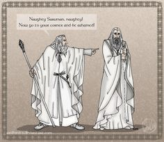 LotR: Words of Great Magic by wolfanita.deviantart.com on @DeviantArt This is perfect