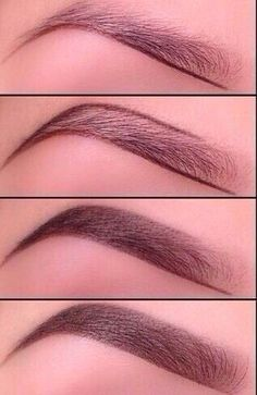 Great tips for filling in eyebrows! Easy pictures to follow too