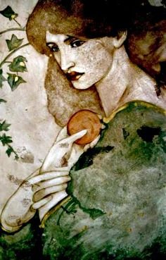 Persephone (from the painting by Rosetti)