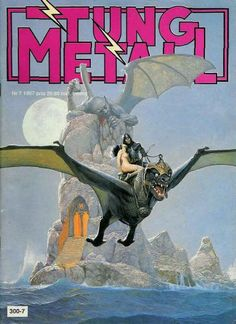 Cover for Tung metall (Epix, 1986 series) #7/1987