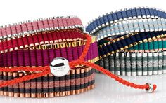 Set your style apart with #Friendship bracelets in bold NEW shades. #LinksTrueFriendship