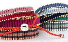 Set your style apart with #Friendship bracelets in bold NEW shades. #LinksTrueFriendship