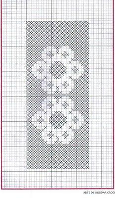 Croche maravilha de arte: Tapete ...com gráfico