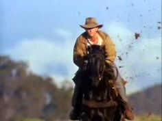 Return To Snowy River-Black Stallion Ride River Quotes, Man From Snowy River, Plus Tv, Wind In My Hair, Black Stallion, Best Novels, My Favorite Part, Movies Showing, Good Movies
