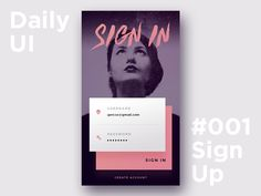 Daily UI - Sign Up by Gergely Bakos