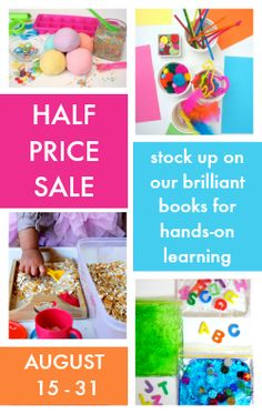 A brilliant collection of hands-on learning curriculum for school and homeschool, all half price! Mix and match to make an awesome bundle!