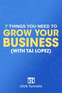 Growing your business doesn't have to be a pain. In fact, it can be some of the most exciting and rewarding work you ever do. Russell Brunson recently sat down with noted entrepreneur and author Tai Lopez as they discussed the ways people can get their online business to grow. The video is well worth a watch, and you can check it out here. #smallbusiness #tailopez #onlinebusiness Sales And Marketing, Marketing Ideas, Internet Marketing, Online Marketing, Business Checks, Business Tips, Online Business, Earn More Money, How To Make Money