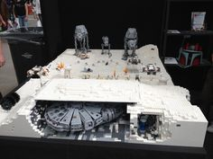 Complete Battle of Hoth Lego set