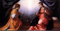 Page of Annunciation by ANDREA DEL SARTO in the Web Gallery of Art, a searchable image collection and database of European painting, sculpture and architecture Catholic Hymns, Catholic Art, Religious Art, Catholic Religion, Roman Catholic, Chef D Oeuvre, Oeuvre D'art, Lucas 1 26 38, 14th Century