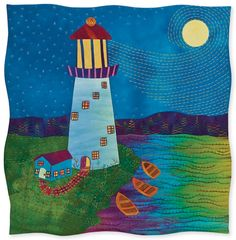 """Blue Moon River: Book review and give-away: """"Fanciful Stitches, Colorful Quilts"""" by Laura Wasilowski"""