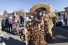 Fiesta de La Vijanera 2013, en Silió #Cantabria #Spain
