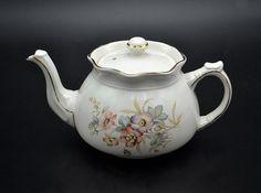 Dogwood Flowers, Vintage Wood, Gold Accents, Flute, Glass Art, My Etsy Shop, England, Chocolate Pots, Teapots