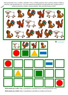 4 Kids, Kids Education, Worksheets, Diy And Crafts, Kids Rugs, Activities, Animals, Speech Language Therapy, Patterns
