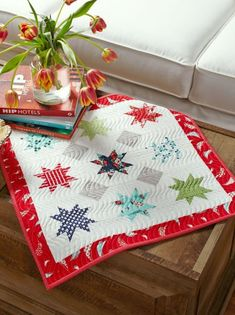 Splash of Sparkle by Sherri McConnell. Fabrics are from the Daysail collection by Bonnie and Camille for @modafabrics.