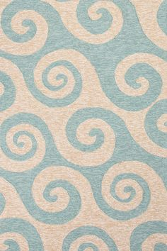 Coastal Living - ocean wave rug