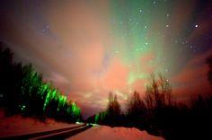 Fairbanks, AK - 3 am, temperature -2F