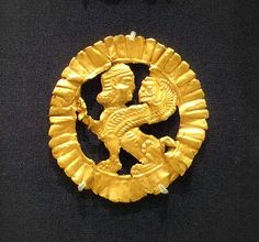 Gold Griffin Brooch Persian 5-4th cent BC British Museum