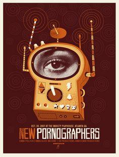 New Pornographers by Robert Lee