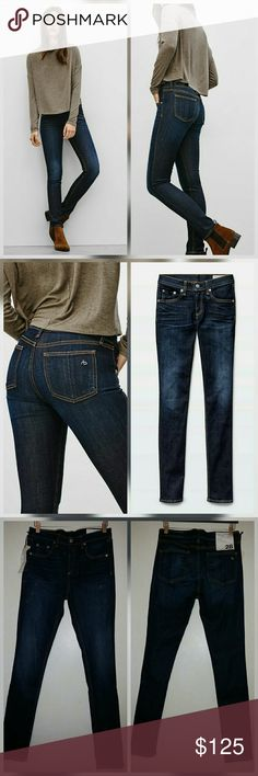 Rag & Bone Skinny Kensington High Rise Jeans New with tags. Perfect condition. No trades. rag & bone Jeans Skinny