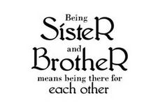 Brother and Sister Quotes Siblings - Bing Images