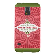 Merry Christmas & Happy New Year Samsung Galaxy S5 Case.