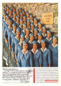 American Airlines ~ Yes, those were the golden days of flying.