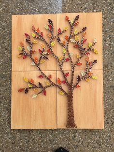 Hey, I found this really awesome Etsy listing at https://www.etsy.com/listing/289006315/custom-made-to-order-autumn-tree-string