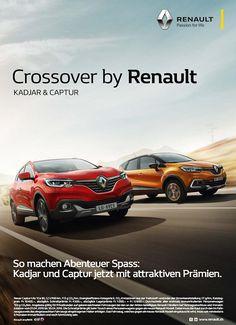 Crossover, Ads Creative, Car Advertising, Car Rental, Portfolio Design, Logo Inspiration, Art Direction, Vehicles, Editorial