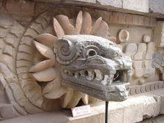 Quetzalcoatl - serpent god Aztec