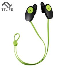 TTLIFE 2017 Bluetooth Stereo Music Earphones Neckband Sport Headsets Wireless Headphones High-Fidelity Sound Earbuds with Mic